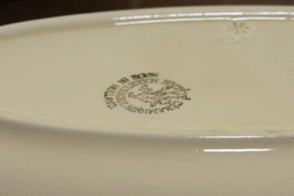 Societe Ceramique Maastricht Vintage/Antiek Set van 2 Bonbon ovalen serveerschaaltjes