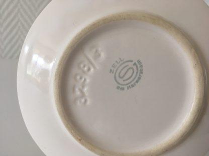 1009 kleine sauskom met vaste schotel