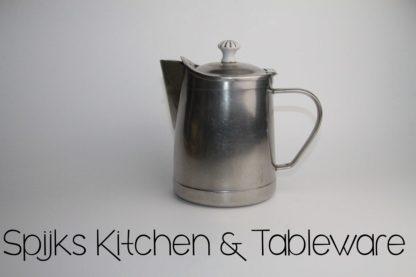 Halling Sweden Theepot met porseleinen knop | Spijks Vintage Kitchen & Tableware