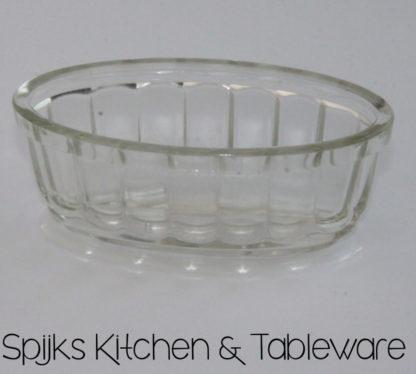 286 glazen kleine boter pudding vorm met scheepsdecor