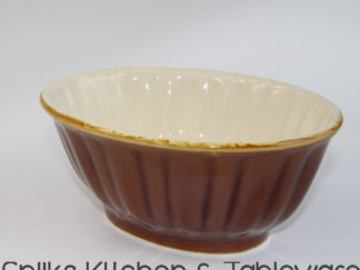317 Oude bruin beige pudding vorm