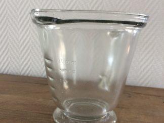 Vintage Glazen Litermaat 1 liter