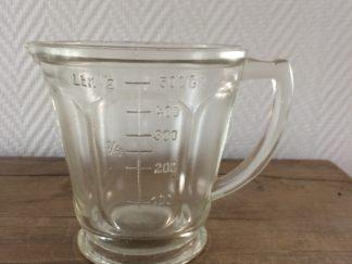 Vintage Litermaat Glas 0.5 liter