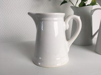 1030 Vintage kannetje wit aardewerk (2)