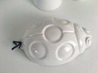 1032 Spijks puddingvorm aardewerk lieveheersbeestje (1)
