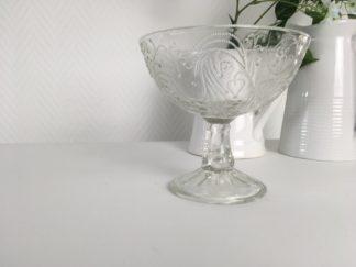 1034 Spijks Vintage sierlijk schaaltje op voet (1)