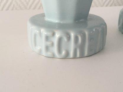 jaren 50 stijle pastel blauwe aardwerken ijscoupes ICECREAM (2)