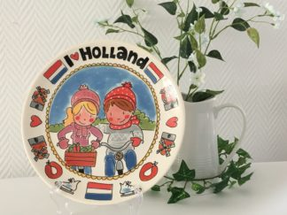 Blond Amsterdam Unox I love Holland Bord