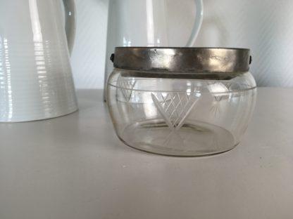 glazen ijsemmer klein jaren 20
