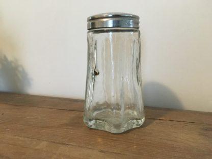 Mooie vintage glazen suikerstrooier