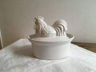 Terrine kip wit aardewerk 2020-001