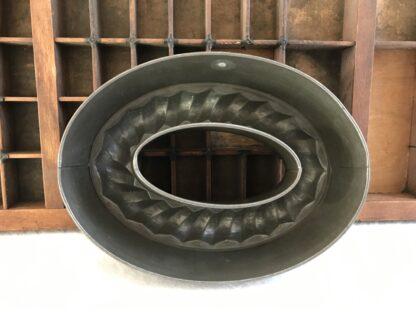 Unieke ovalen bakvorm metaal