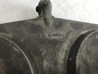 Vintage made in Sweden tosti ijzer voor gebruik bij open vuur